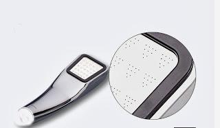Vòi sen tăng áp Version 2, phiên bản pro, thiết kế sang trọng với chất liệu Inox sáng bóng và độ bên cực cao.