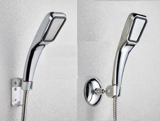Vòi sen tăng áp mã số VS01 - pro. Không dùng diện, tự tạo ra áp lực nước tăng gấp 3 lần vòi hoa sen thông thường, trong khi vẫn tiết kiệm được 40% nước.